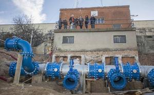 Las obras en el depósito de la Montaña de Cáceres provocan cortes de agua programados