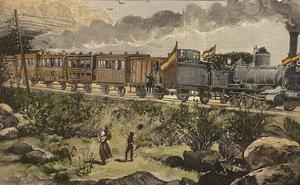 Cáceres exhibe documentos de la inauguración en 1881 de la línea de tren Madrid-Lisboa