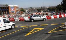 Abre al tráfico la rotonda de Héroes de Baler de Cáceres