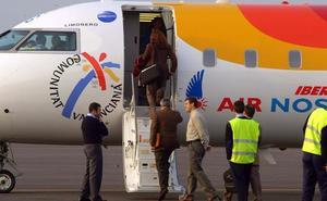 Un fallo eléctrico impide salir el vuelo Badajoz-Madrid