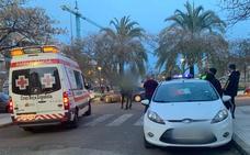 Una niña de 13 años sufre heridas leves tras un atropello en Badajoz