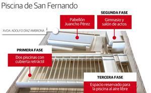 Las obras de la piscina de la Margen Derecha de Badajoz comenzarán en marzo