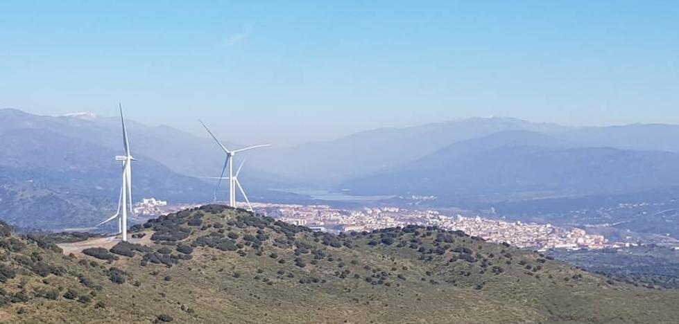 Extremadura estrena su primer parque de energía eólica