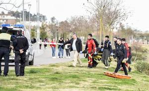 La autopsia descarta la muerte violenta del hombre encontrado en el Guadiana a su paso por Badajoz