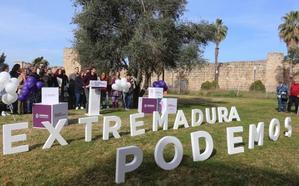 Álvaro Jaén asegura que Podemos va a luchar para que el cambio sea una realidad en Extremadura