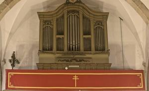 La restauración del órgano de Santa María mejorará su mecánica y la carcasa