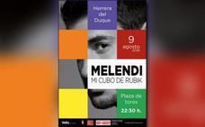 Melendi llevará el 9 de agosto a Herrera su última gira de conciertos