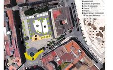 Así será la plaza de Santa Marta en Badajoz sin eucaliptos