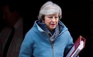 May pide a sus diputados unidad en la recta final del 'brexit'