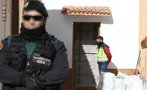 Desarticulado un clan familiar que plantaba y exportaba marihuana desde Extremadura