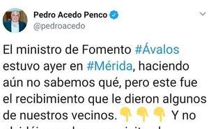 El PSOE insta a Acedo a que pida perdón por sus comentarios sobre los insultos a Ábalos