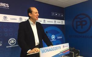 El PP de Extremadura afea a Ábalos que se enfrente a los ciudadanos y se fuera de bares