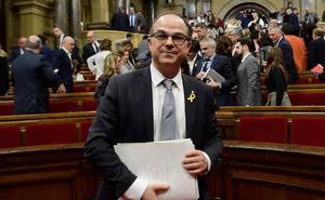Jordi Turull, el hombre que quiso suceder a Puigdemont