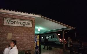 Un fallo en el suministro de energía afecta a tres trenes en el trayecto Monfragüe-Plasencia