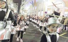 El desfile de Carnaval de Cáceres retrasa su hora de salida y pasará por San Antón