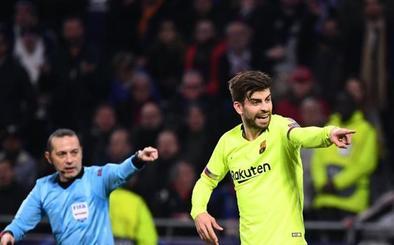 Piqué, sobre el Madrid: «Luego van al Wanda, les ayudan y se callan»