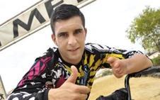Rubén Tanco, ante el reto de pedalear 12 horas por un fin solidario