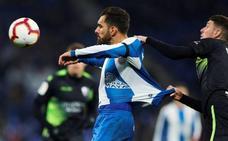 El Huesca enfría la euforia del Espanyol