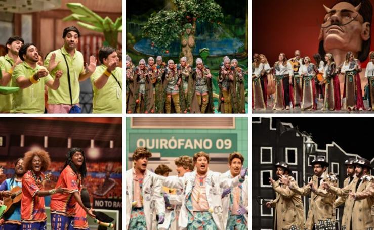 Viernes de preliminares del Concurso de Murgas del Carnaval de Badajoz, en imágenes