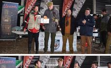 Michiel Buil y Gabriel Ballesteros, ganadores del autonómico de Cetrería