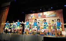 'Los Camándulas' y 'La Oveja Negra' ponen en pie al público en la segunda semifinal del Carnaval Romano