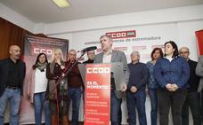 Unai Sordo aboga en Cáceres por aumentar la presión fiscal para impulsar el tren