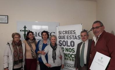 LA ALBUERA DONA CASI 4.000 EUROS A LA AECC