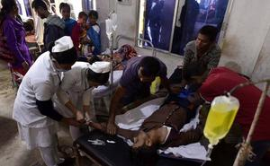 El alcohol adulterado causa 98 muertos y más de 200 personas hospitalizadas en India