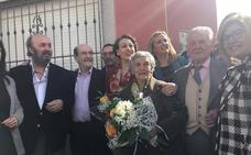 Torremocha inaugura una calle con el nombre de la ministra Magdalena Valerio