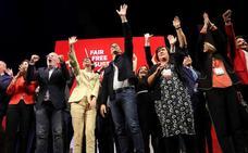 Sánchez apela a la movilización para frenar el pacto de la derecha
