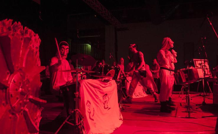 La tamborada encaja en Ifeba