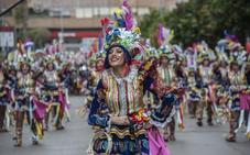 Orden en el desfile de comparsas del Carnaval de Badajoz 2019
