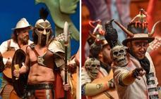 Los malos dominan la primera semifinal del Carnaval de Badajoz