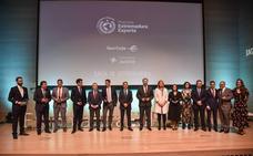 La Junta de Extremadura premia a los empresarios exportadores