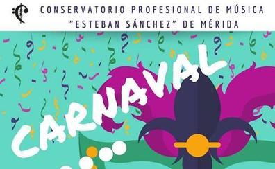 Concierto en Mérida de Carnaval del Conservatorio