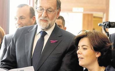Rajoy, Santamaría y Mas, a escena en el juicio del 'procés'