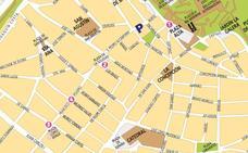 Mapa y horarios de las actuaciones callejeras de las murgas de Badajoz