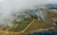 La Guardia Civil investiga el origen del incendio en La Garganta