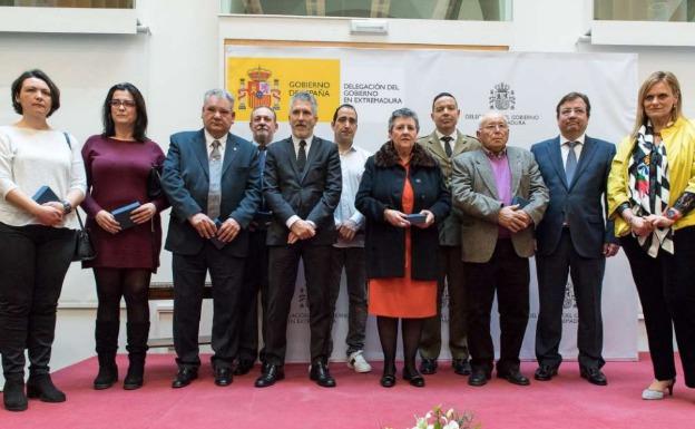 Reconocimiento a José María Piris y otras nueve víctimas extremeñas del terrorismo