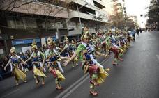 Los niños dan un nueva lección en el Carnaval en Badajoz