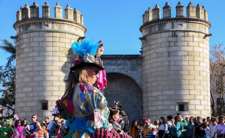 Sábado de Carnaval en Badajoz