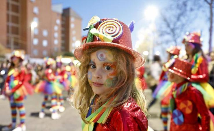 Desfile en el Carnaval de Cáceres