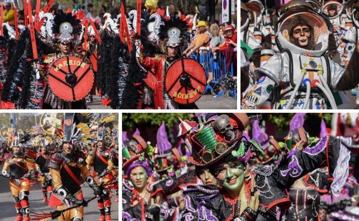 Gran desfile de comparsas del Carnaval de Badajoz 2019