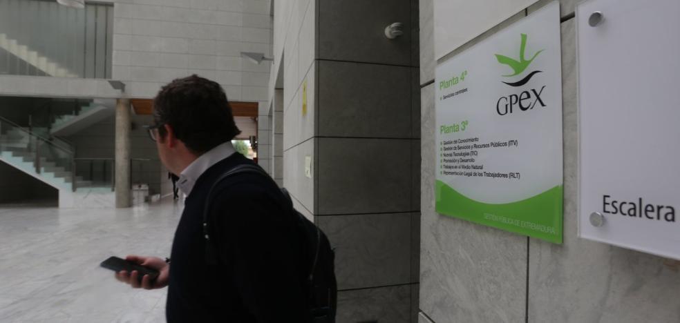 La Junta autoriza un préstamo de 25 millones para la empresa pública GPEx
