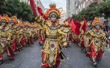 Así es el traje de Los Lingotes, ganadores del concurso de comparsas de Badajoz