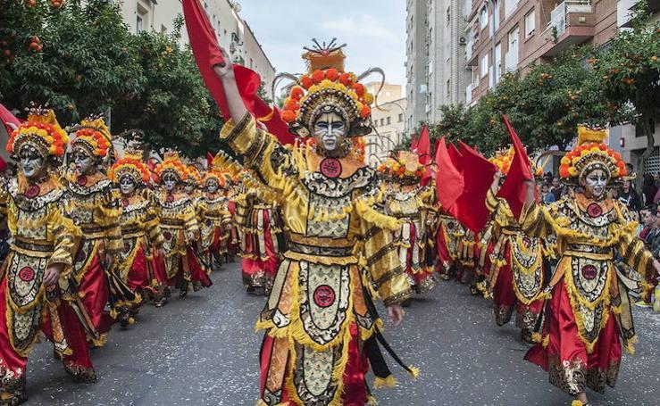 Así es el traje de la comparsa ganadora del concurso de Badajoz