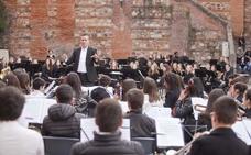 'Batalla' musical en el Foro de los Balbos de Cáceres