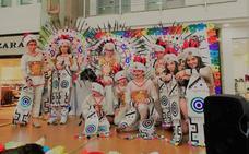 Carnaval infantil en el centro Ruta de la Plata