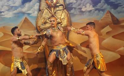 Afrodisia vence en el concurso drag del Carnaval Romano