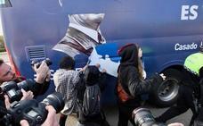 La Policía Local de Valencia retiene el autobús de HazteOír